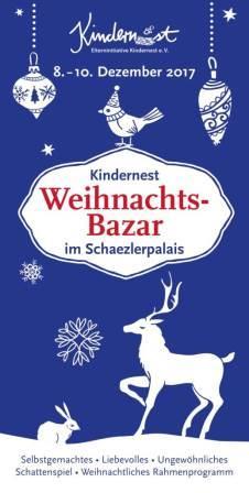 Weihnachtsbazar im Schätzlerpalais 2017